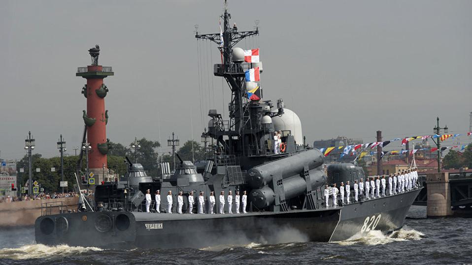 День ВМФ России. Поздравления от коллектива Спецодежды в Мурманске.